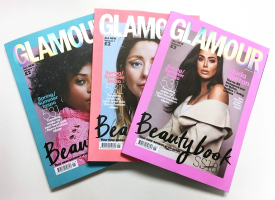 Glamour Edited 3 Covers